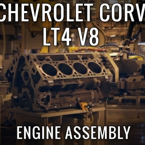 Building GM's most powerful Engine Ever, the 650hp LT4 V8! - YouTube
